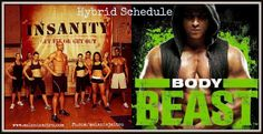 Body Beast Insanity Hybrid Schedule