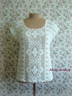Top with pattern
