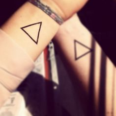 geometric triangle tattoos - Google Search