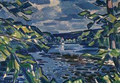 Fauvism, Mondrian, Modern Art, Scene, Landscape, Sorting, Illustration, Artwork, Painting