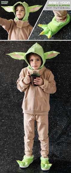 Help keep Baby Yoda safe by bringing the new adorable beloved Star Wars character into your home. This DIY tutorial will hell you bring Baby Yoda to life on Earth step by step!