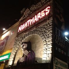 Visit the nightmare fear factory!! The scariest and best haunted house attraction in Niagara Falls Canada.