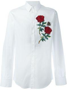 Dolce & Gabbana Camisa com aplicação