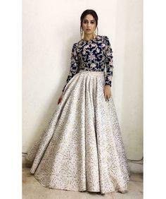 lehenga indian party dress wear Indian Party Wear Lehenga DressYou can find Designer dresses indian and more on our website Party Wear Indian Dresses, Designer Party Wear Dresses, Party Wear Lehenga, Indian Gowns Dresses, Indian Fashion Dresses, Dress Indian Style, Indian Designer Outfits, Pakistani Dresses, Indian Outfits