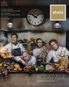 shots Issue 161 (February 2016) featuring Rosapark #magazine #cover #print Shots Magazine, Magazine Covers, Steve Reeves, Advertising Industry, Recipe For Success, February 2016, It Cast, Prints, Printmaking