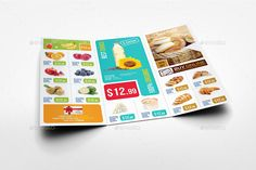 Buy Supermarket Products Tri-Fold Catalog Brochure by OWPictures on GraphicRiver. Tri-Fold Brochure Description: Supermarket Products Catalog Tri-Fold Brochure was designed for exclusively cor. Financial Logo, Tri Fold, Letter Size, Plaza, Brochure Design, Design Bundles, Catalog, Editorial, Design Ideas