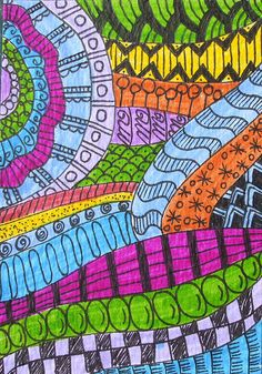 another take on zentangles