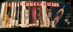 Lot of 17 Vtg Life Magazines Eisenhower Nixon Johnny Cash Mao Marilyn Monroe #LIfeMagazine
