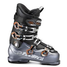The 2017 Tecnica Ten2 70 HV Ski Boots is the perfect choice you entry level skiers with wide, high volume feet who are tired of squishing you toes and crushing your arches. The I-Rebound progressive 70 flex system allows for easy ski control and power transfer. An extra high volume 106mm last paired with an Ultrafit High Volume liner make this one of the most accommodating boots on the market for larger feet.