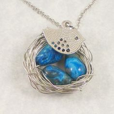 @Kari Hay - this reminds me of the nest necklaces that you have on one of your boards.