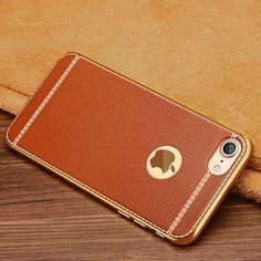 Luxury Leather Grain Case For iPhone 7 7 Plus