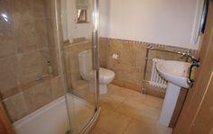 Shower room in The Granary Luxury Holidays, Corner Bathtub, Shower, Bathroom, Rain Shower Heads, Washroom, Full Bath, Showers, Bath
