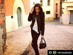 #Repost @nenasabata with @repostapp  Black white and... cats! @gussmoda #Berga #Berguedà #bergueda #moda #fashion #fashionable #catalunya #catalonia #moda2016 #instamoda #lookfashion #black #trendy #trends #womenfashion #modadona #tendencia #modafemenina #street #streetstyle #instagood #girl #beauty #model #instafashion #igers #iger #igdaily