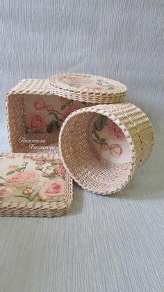 Плетение из бумаги- мое хобби..
