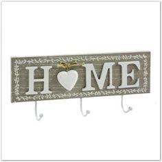 Pinkbagoly: HOME feliratú fali fogas - skandináv stílusú lakbe... Home Decor, Decoration Home, Room Decor, Home Interior Design, Home Decoration, Interior Design