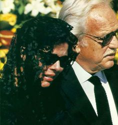 Stefano Casiraghi's funeral  - now Prince Rainier supports his daughter in her grief, as she supported him when Princess Grace died