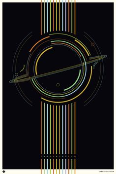 25 Incredible Fan-Made Interstellar Posters Poster By James Viola Movie Poster Art, Film Posters, Fan Poster, Poster Minimalista, Digital Foto, Kunst Poster, Alternative Movie Posters, Fan Art, Love Movie