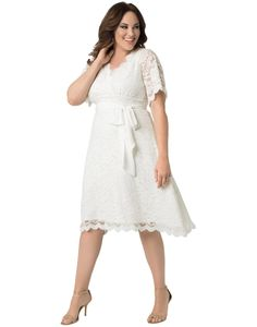 fb683461f7d online shopping for Kiyonna Women s Plus Size Graced Love Wedding Dress  from top store. See new offer for Kiyonna Women s Plus Size Graced Love  Wedding ...