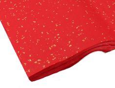 Red Golden Rain | Gold Speckled Shuen Decorative Paper $20.99 #Brushpainting #AsianArt #Chinese