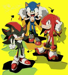 Shadow And Amy, Sonic And Shadow, Sonic 3, Sonic Fan Art, Shadow The Hedgehog, Sonic The Hedgehog, Character Art, Character Design, Sonic Franchise