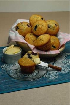 Low Carb Muffins - Three recipes for LC muffins: Blueberry Lemon, Blueberry Sour Cream, Savory Cheese