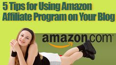 Make Money With Amazon http://internetmarketingexpert.info/ 5 Tips for Using Amazon Affiliate Program on Your Blog VIDEO: https://www.youtube.com/watch?v=0pRMtILWhnk
