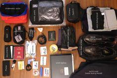 Travel light .. 7 days transatlantic (personal & business) .. 0 checked luggage.
