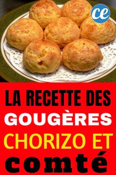 My Chorizo-Comté Gougères For an Easy Aperitif - - Brunch, Whisky Tasting, Baking Basics, Tasty, Yummy Food, Ham And Cheese, Food Videos, Entrees, Food And Drink