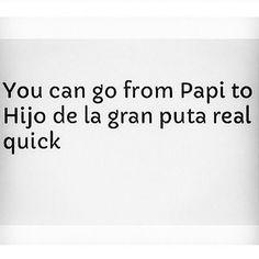 NEVER upset a Latina! So true.