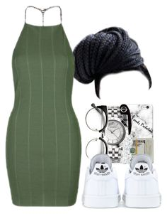 """""""Untitled #25"""" by cinirateixeira ❤ liked on Polyvore featuring adidas and Topshop"""