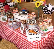 Ashlea T's Birthday / western theme - Photo Gallery at Catch My Party Rodeo Birthday, Country Birthday, Cowboy Birthday Party, Farm Birthday, 2nd Birthday Parties, Birthday Ideas, Barnyard Party, Farm Party, Cowboy Theme Party