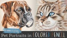 Draw your most heartwarming pieces of art with new colored pencil skills. Capture the beautiful fur, sparkling eyes and unforgettable faces of beloved pets. Animal Drawings, Cool Drawings, Pencil Drawings, Pencil Art, Horse Drawings, Pencil Drawing Tutorials, Drawing Ideas, Drawing Tips, Drawing Designs