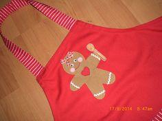delantal infantil ginger cookie (detalle)
