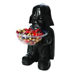 Darth Vadar candy bowl holder (20 inches tall)!I WANT!!!