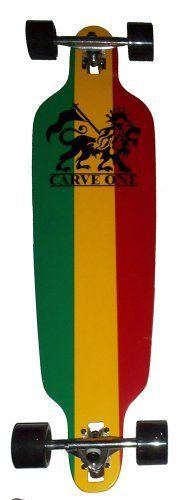 "Carve-One Blank Rasta Drop-Thru Downhill Longboard Complete 39.75"" by Carve Designs. $78.99. Brand New, Top Quality Carve-one Longboard Complete. Comes Assembled & Installed With Grip Tape."