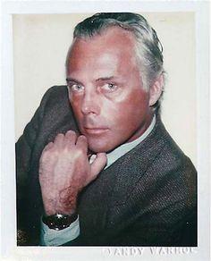 Giorgio Armani:  Andy Warhol Polaroids