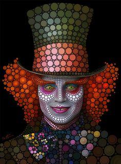 Mad Hatter - Johnny Depp (Circlism)