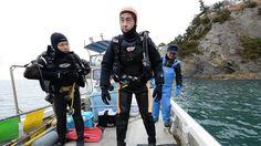 La emotiva historia del japonés que bucea para buscar a su esposa desaparecida en el tsunami de 2011