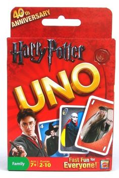 Mattel Harry Potter Uno Card Game. I'd play this.