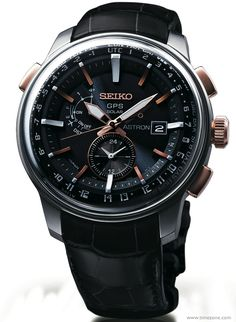 "TimeZone : Industry News » NEW: Introducing the New Seiko Astron GPS ""Stratosphere"" Design"