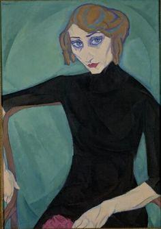 Leo Gestel - Zittende vrouw, 1912 | Stedelijk Museum Amsterdam
