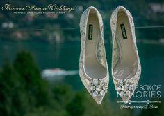 Bride's preparation at beautiful Villa Alba, Lake Como. Picture by Steve Tarling ©