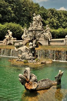 Royal Palace of Caserta - The park