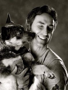 Mike Wolfe (American Pickers) & his cattle dog Celebrity Dogs, American Pickers, Dog Rules, Australian Cattle Dog, Mans Best Friend, Dog Life, Dog Pictures, I Love Dogs, Best Dogs