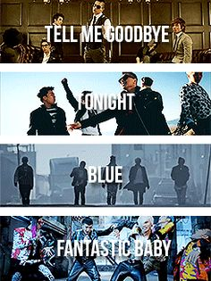 Tell Me Goodbye/Tonight/Blue/Fantastic Baby