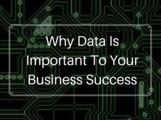 """""""Data isn't just for large companies. Data is for every company on the planet including yours. In the words of Captain Jean Luc Picard: Make it so!"""""""