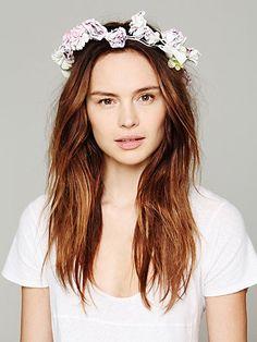 bfaec099974 Britt by Britt Garden of Eden Floral Crown Boho Wedding Hair