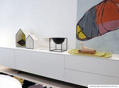 #Gaertner Internationale #Moebel #Sideboard #Piure #Malerei Maren Simon #Showroom #Hamburg