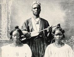 Banjo Ancestors: Griot Lutes - an instrument that is traditionally exclusive to the male members of the hereditary griot castes. A griot is a historian, musician and storyteller figure in certain West African cultures.