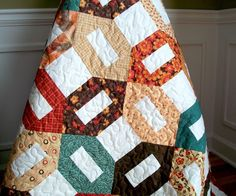 Essence Rustic Fall Lap Quilt